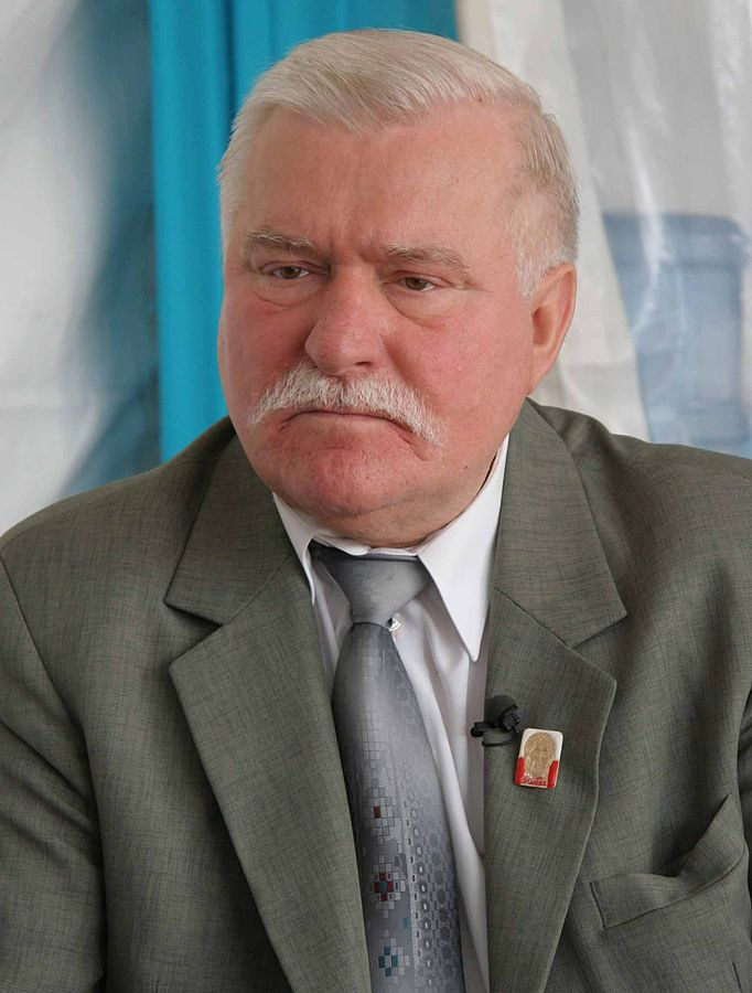 Umstrittener Revolutionsheld: Lech Walesa im Jahr 2009 / Von MEDEF - Flickr, CC BY-SA 2.0, https://commons.wikimedia.org/w/index.php?curid=10010548